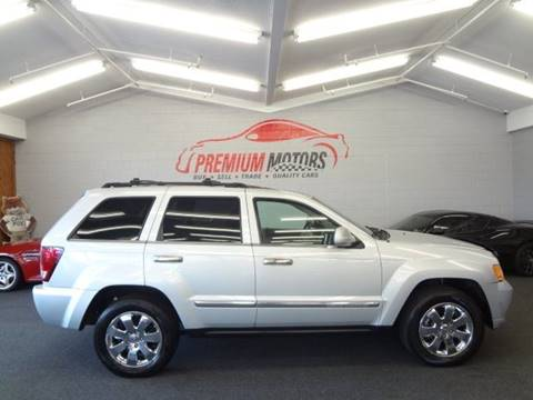 2008 Jeep Grand Cherokee for sale at Premium Motors in Villa Park IL