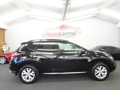 2011 Nissan Murano for sale at Premium Motors in Villa Park IL