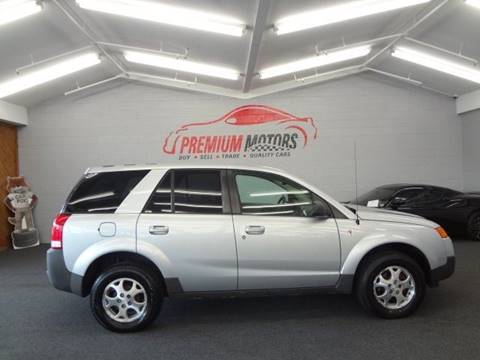 2004 Saturn Vue for sale at Premium Motors in Villa Park IL
