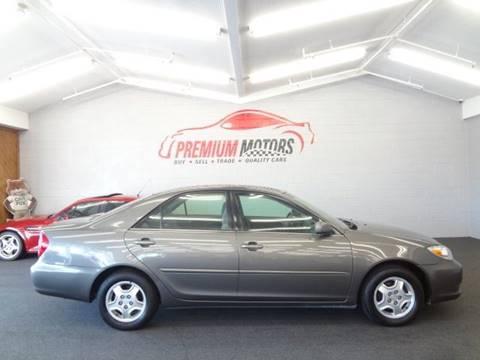 2003 Toyota Camry for sale at Premium Motors in Villa Park IL