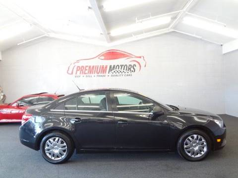 2011 Chevrolet Cruze for sale at Premium Motors in Villa Park IL
