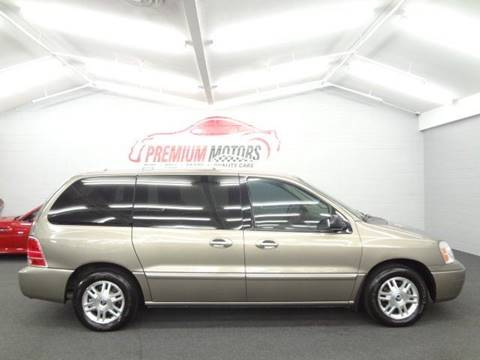 2005 Mercury Monterey for sale at Premium Motors in Villa Park IL