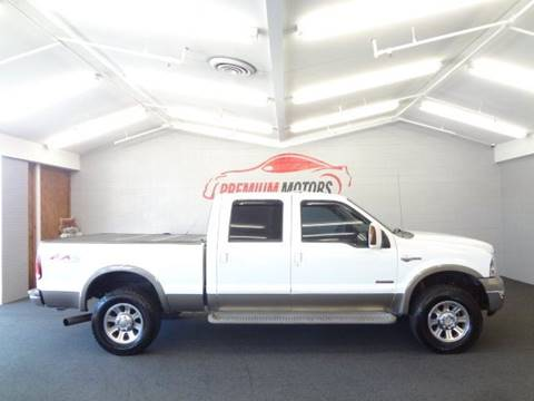 2005 Ford F-250 Super Duty for sale at Premium Motors in Villa Park IL