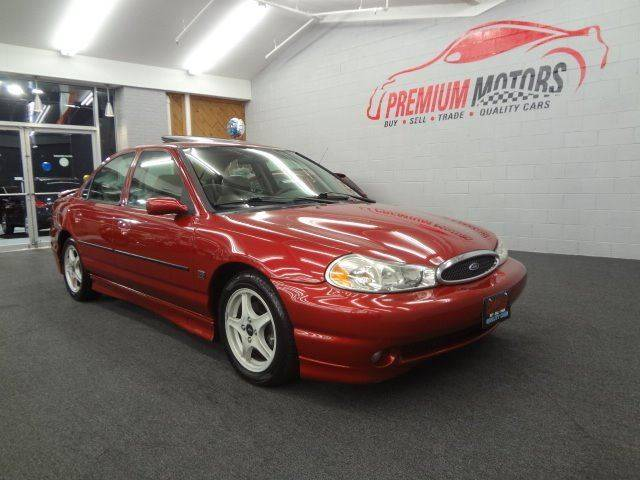 2000 Ford Contour Svt 4dr Sedan In Villa Park IL