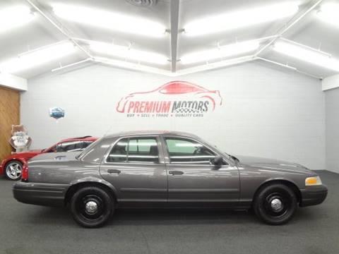 2008 Ford Crown Victoria for sale at Premium Motors in Villa Park IL