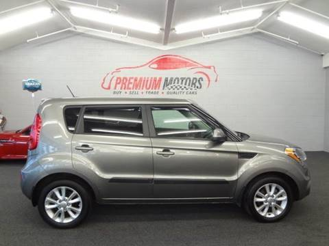 2012 Kia Soul for sale at Premium Motors in Villa Park IL