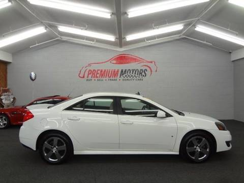 2009 Pontiac G6 for sale at Premium Motors in Villa Park IL