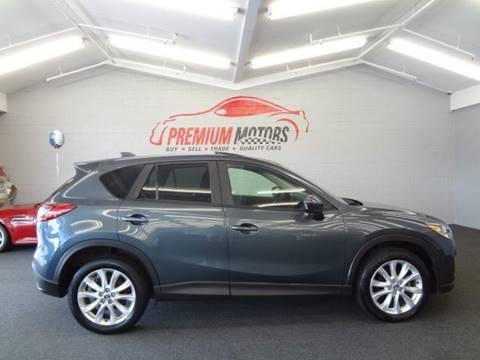 2013 Mazda CX-5 for sale at Premium Motors in Villa Park IL
