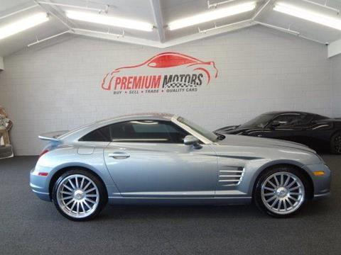 custom chrysler crossfire srt6. 2005 chrysler crossfire srt6 for sale in villa park il custom srt6