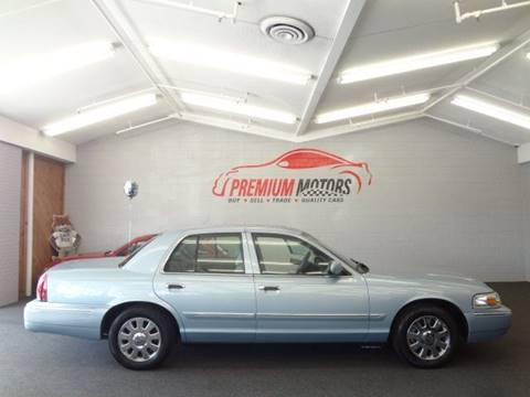 2008 Mercury Grand Marquis for sale at Premium Motors in Villa Park IL
