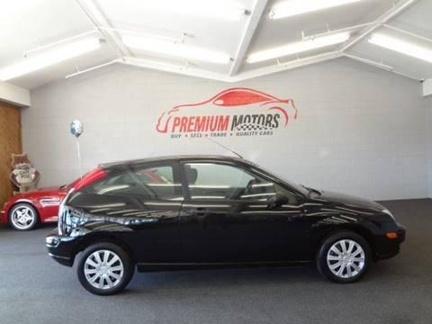 2007 Ford Focus for sale at Premium Motors in Villa Park IL