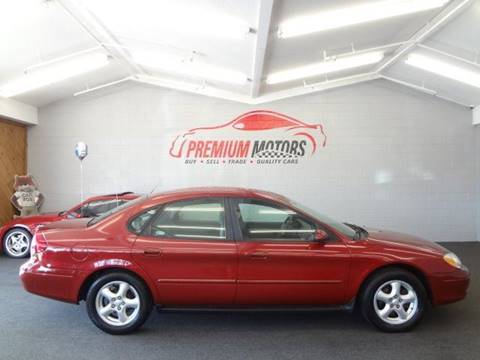 2003 Ford Taurus for sale at Premium Motors in Villa Park IL