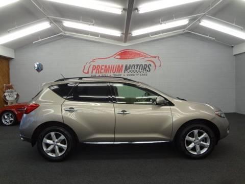 2009 Nissan Murano for sale at Premium Motors in Villa Park IL