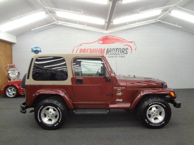 2001 Jeep Wrangler 2dr Sahara 4WD SUV   Villa Park IL