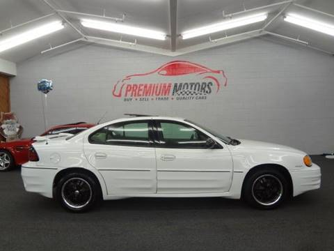 2004 Pontiac Grand Am for sale at Premium Motors in Villa Park IL