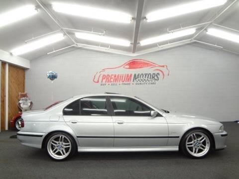 1999 BMW 5 Series for sale at Premium Motors in Villa Park IL