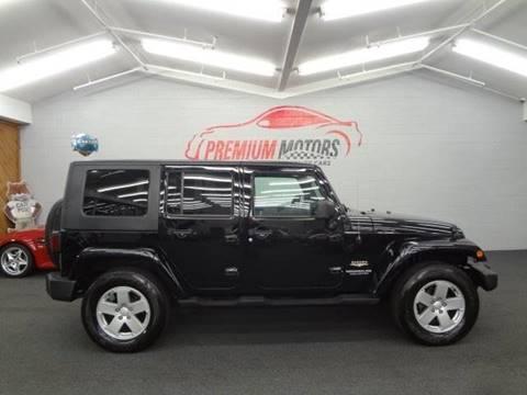 2007 Jeep Wrangler Unlimited for sale at Premium Motors in Villa Park IL