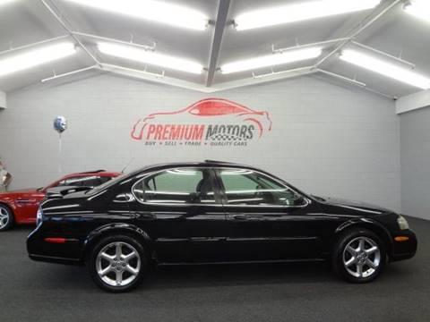 2003 Nissan Maxima for sale at Premium Motors in Villa Park IL