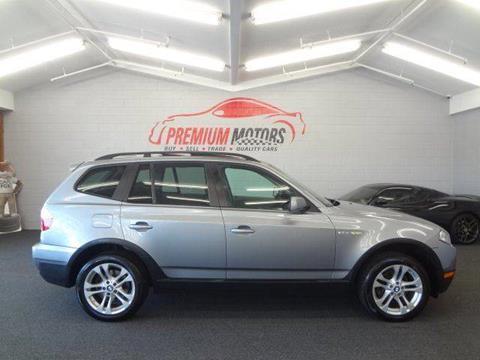 2007 BMW X3 for sale at Premium Motors in Villa Park IL