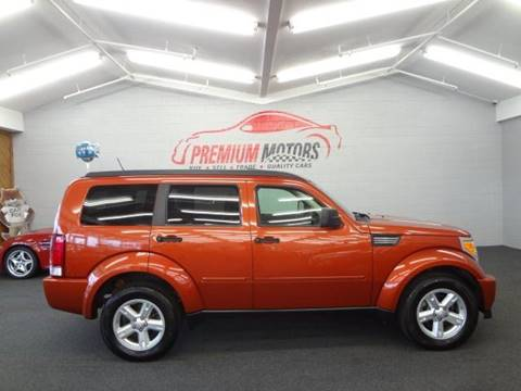 2008 Dodge Nitro for sale at Premium Motors in Villa Park IL