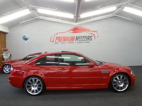 2006 BMW M3 for sale at Premium Motors in Villa Park IL