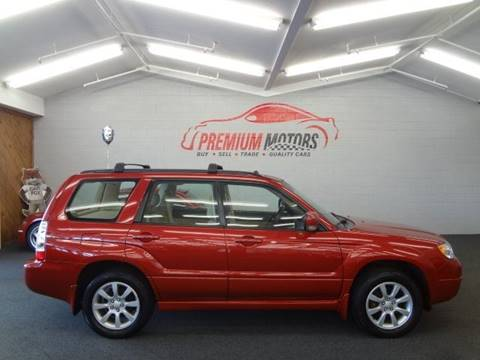 2006 Subaru Forester for sale at Premium Motors in Villa Park IL