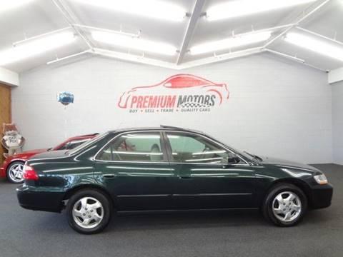 1998 Honda Accord for sale at Premium Motors in Villa Park IL