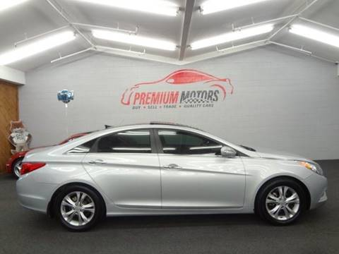 2013 Hyundai Sonata for sale at Premium Motors in Villa Park IL