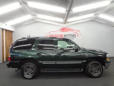 2004 Chevrolet Tahoe for sale at Premium Motors in Villa Park IL