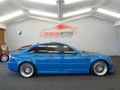 2004 BMW M3 for sale at Premium Motors in Villa Park IL
