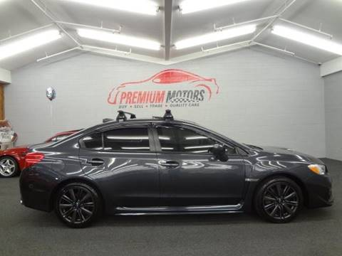 2015 Subaru WRX for sale at Premium Motors in Villa Park IL