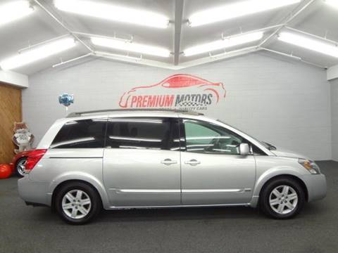 2006 Nissan Quest for sale at Premium Motors in Villa Park IL