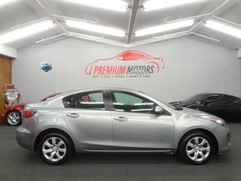 2013 Mazda MAZDA3 for sale at Premium Motors in Villa Park IL