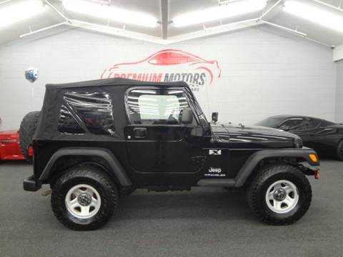 2005 Jeep Wrangler for sale at Premium Motors in Villa Park IL