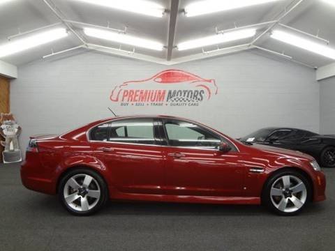 2009 Pontiac G8 for sale at Premium Motors in Villa Park IL