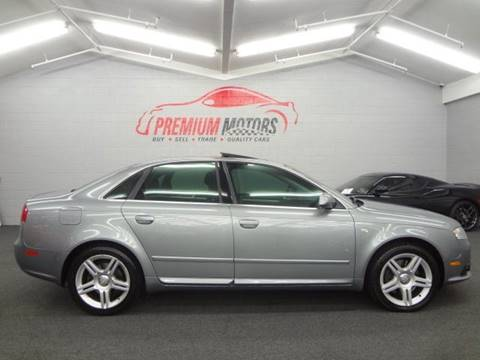 2008 Audi A4 for sale at Premium Motors in Villa Park IL