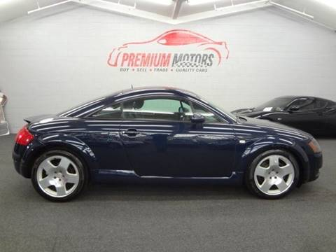 2002 Audi TT for sale at Premium Motors in Villa Park IL