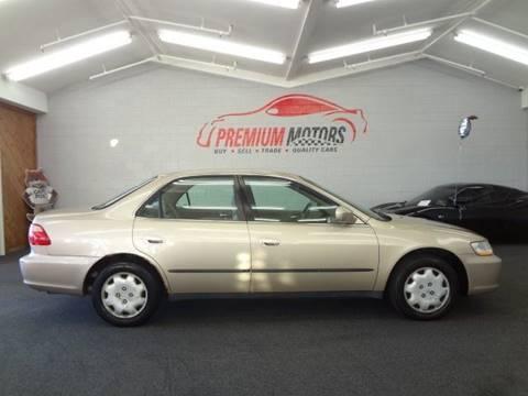 2000 Honda Accord for sale at Premium Motors in Villa Park IL