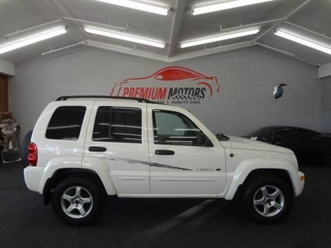 2002 Jeep Liberty for sale at Premium Motors in Villa Park IL