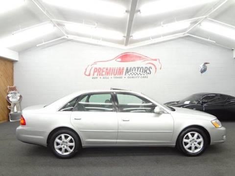 2002 Toyota Avalon for sale at Premium Motors in Villa Park IL