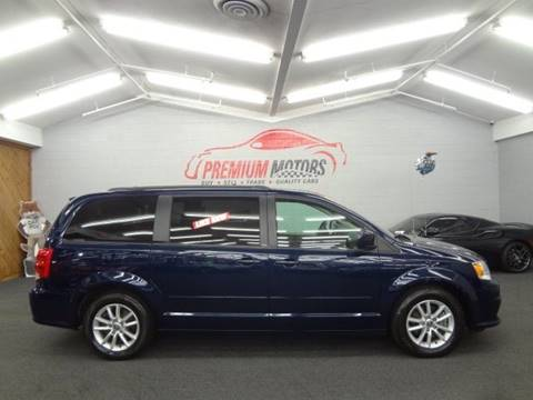 2013 Dodge Grand Caravan for sale at Premium Motors in Villa Park IL