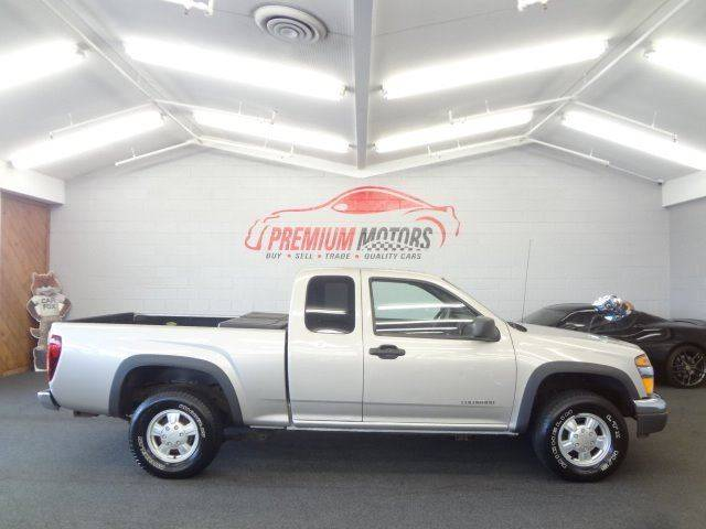 2004 Chevrolet Colorado 4dr Extended Cab Z71 Ls 4wd Sb In