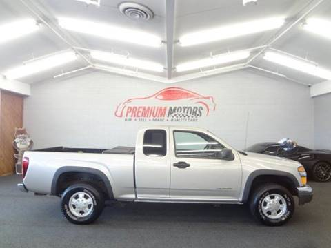 2004 Chevrolet Colorado for sale at Premium Motors in Villa Park IL