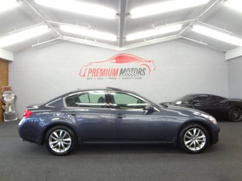 2007 Infiniti G35 for sale at Premium Motors in Villa Park IL
