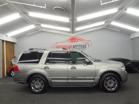 2008 Lincoln Navigator for sale at Premium Motors in Villa Park IL
