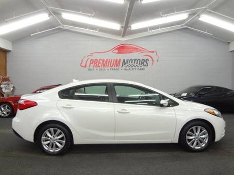 2014 Kia Forte for sale at Premium Motors in Villa Park IL