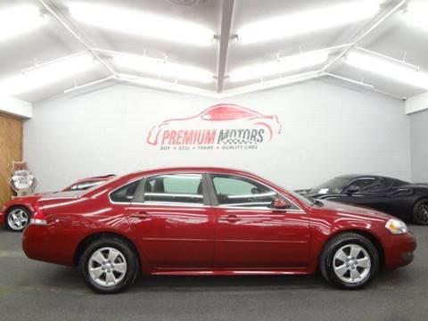 2011 Chevrolet Impala for sale at Premium Motors in Villa Park IL