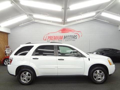 2005 Chevrolet Equinox for sale at Premium Motors in Villa Park IL