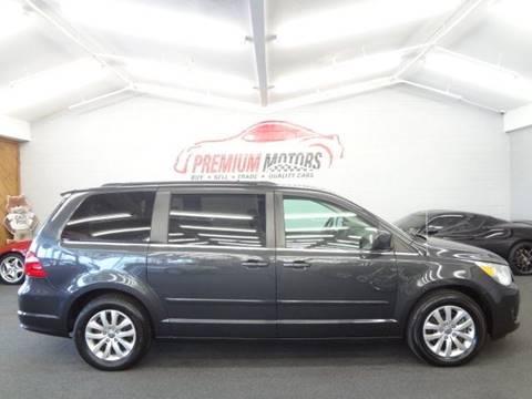 2012 Volkswagen Routan for sale at Premium Motors in Villa Park IL