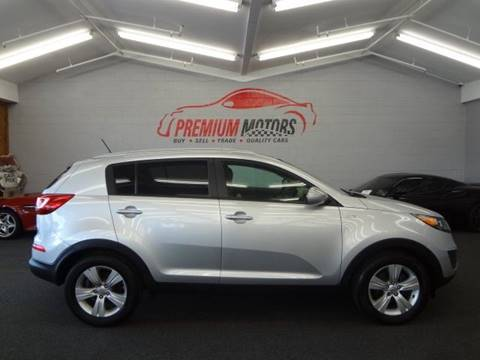 2011 Kia Sportage for sale at Premium Motors in Villa Park IL